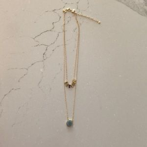 NWOT Baublebar Double Layer Necklace